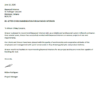 Reference Letter from Stracor